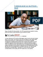 SRI LANKAN IDEOLOGICAL BATTLES – SUNIL BASTIAN.docx