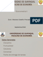 Clases II Primer Parcial