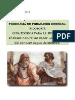 Guía Teórica Sesion 5 2012 i Aristoteles
