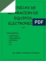 Tecnicas de Reparacion de Equipos Electronicos-caratula