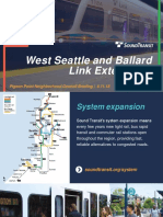 Pigeon Point presentation on Sound Transit light rail