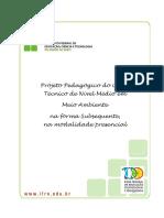 Tecnico Subsequente Em Meio Ambiente 2012