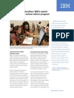 IBM Reinventing Education