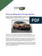 Proyecto LandRover Electrico