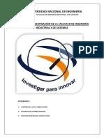 Instituto de Investigación de La Facultad de Ingeniería Industrial y de Sistemas