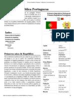 Primera República Portuguesa