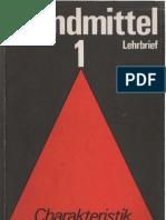 Brandmittel Lehrbrief 1 - Charakteristik der Brandmittel - H.J. Töpfer
