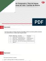 Sesión 4 - Interes Compuesto a Tasa de Interes Nominal Ecuaciones de Valor - Cuentas de Ahorro (1)