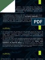 Apresentação MicroRNA