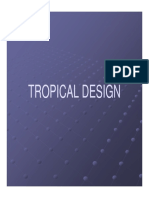Tropical Design - Lecture