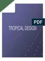 Tropical Design - Lecture
