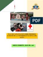 Plan de Primeros Auxilios