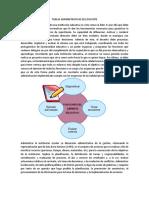 Tareas Administrativas Del Docente