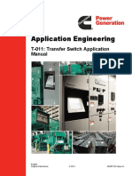 T-011 - Transfer Switch Application Manual