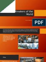 Top Steelmakers of the World