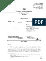 So vs PDIC_JTijam_PDIC as Quasijudicial Body Certiorari to CA for Review_corporation, MTC, Person to RTC for Rule 65