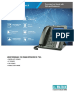 IP-PBX USER TERMINALS Style and