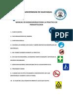 Manual de Bioseguridad Para La Practica de Parasitologia