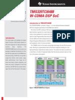 Texas Instrument - TMS320TCI6488 W-CDMA DSP SoC
