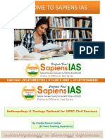Where To Join Anthropology and Zoology Optional for UPSC Civil Services In Delhi, India