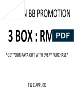Blincon Bb Promotion