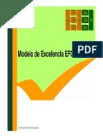 Presentación Modelo Efqm