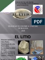 Bolivia y Su Litio