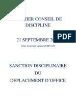 Conseil de discipline n°1 - Version finale