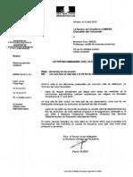 Conseil de discipline n°2 - Réponse au Rapport disciplinaire du recteur