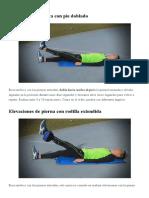 Ejercicios Para Recuperarse de Una Condromalacia Rotuliana - Foroatletismo