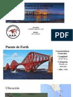 Estructuras II Puente Forth