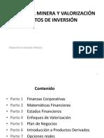 Economía Minera y Valorización de Proyectos de Inversión