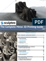 The Complete Metal 3d Printing Guide