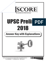 Upsc Pt Answer Key 2018