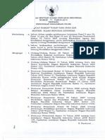 Menteri Pendidikan Agama Republik Indonesia - 2014 - Peraturan Menteri Agama Republik Indonesia Nomor 1