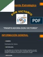 Planeamiento Estratégico DON VICTORIO