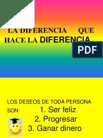 LA DIFERENCIA que hace la diferencia.pptx