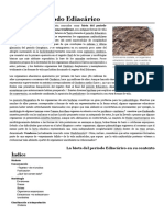 Biota del periodo Ediacárico - Wikipedia, la enciclopedia libre