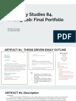 university studies 84 writing lab  final portfolio