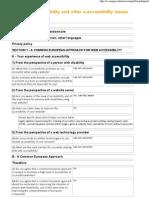 EU umfrage web accessibility 3 7 08