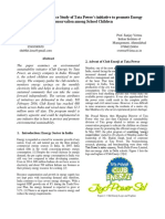 Energy Conservation Case Study by IIM Ahmedabad - Club Enerji