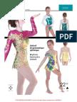 Jalie 3026 Rhythmic Gymnastics Leotard-Instructions