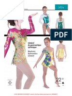 Jalie 3026 Rhythmic Gymnastics Leotard-Instructions