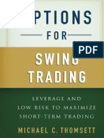 Options for Swing Trading by Michael C. Thomsett