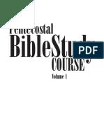 Curso de Estudio Biblico Pentecostal