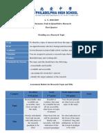 Performance Task in Quantitative