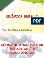 Geometria Molecular e Polaridade de Substâncias