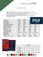 Ficha Técnica Calorintra