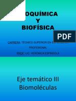 BLOQUE  3-BIOMOLECULAS