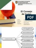 Consejo de Curso            _trabajo Orientación